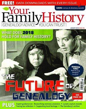 Your Family History - January 2018