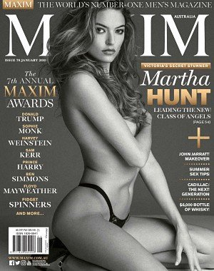 Maxim Australia - January 2018