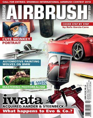 Airbrush Step by Step - January 2018