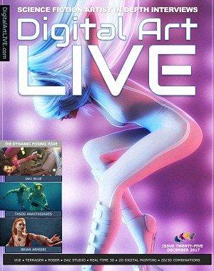 Digital Art Live - Issue 25, December 2017