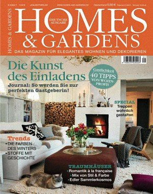 Homes and Gardens Germany - Januar-Februar 2018