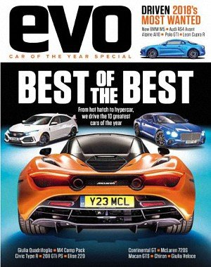 evo UK - Car of the year 2017