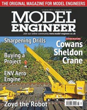 Model Engineer - 05 January 2018