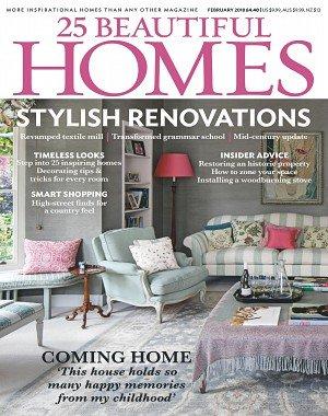 25 Beautiful Homes - February 2018