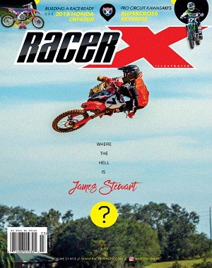 Racer X Illustrated - March 2018