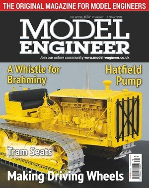 Model Engineer - 19 January 2018