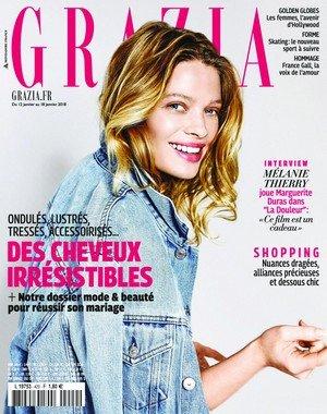 Grazia France - 10 janvier 2018