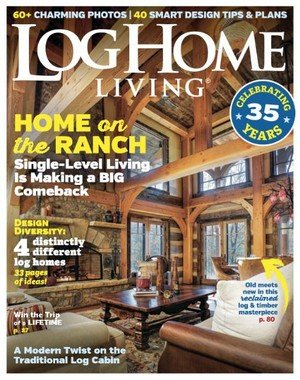 Log Home Living - March 2018