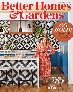 Better Homes and Gardens USA - February 2018