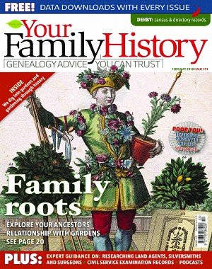 Your Family History - February 2018