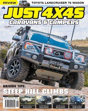 Just 4x4s - 18 January 2018