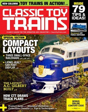 Classic Toy Trains - March 2018