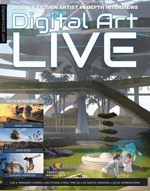 Digital Art Live - Issue 26, January 2018