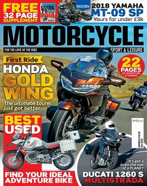 Motorcycle Sport and Leisure - March 2018