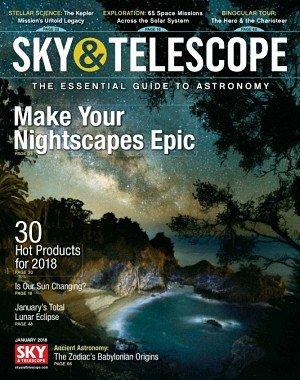 Sky and Telescope - January 2018
