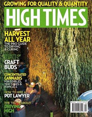 High Times - April 2018