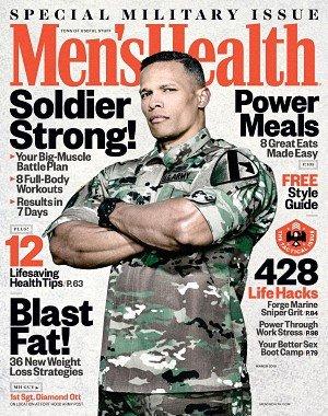 Men's Health USA - March 2018
