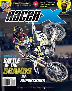Racer X Illustrated - April 2018