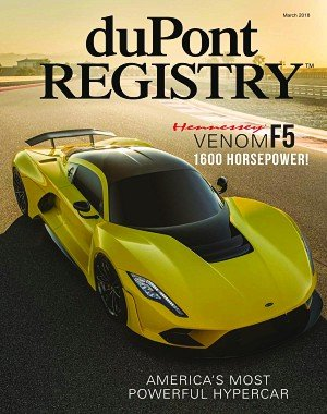 duPont Registry - March 2018