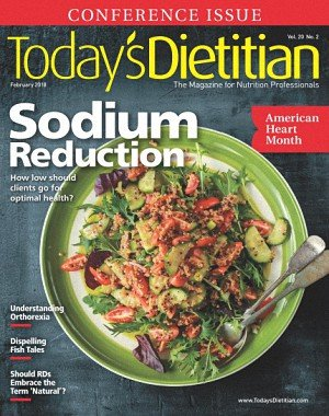 Today's Dietitian - February 2018
