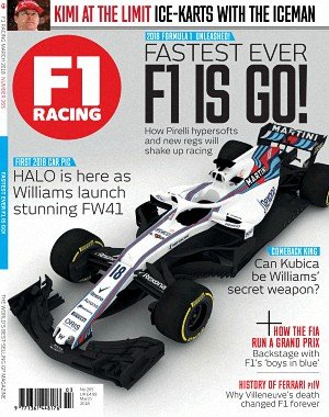 F1 Racing UK - March 2018