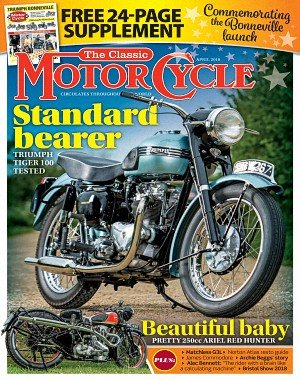 The Classic MotorCycle - April 2018