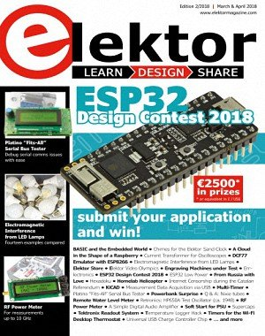 Elektor USA - March/April 2018
