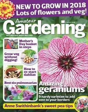 Amateur Gardening - 10 March 2018