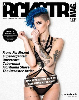 RCKSTR Magazin - Februar 2018
