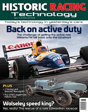 Historic Racing Technology – March 2018