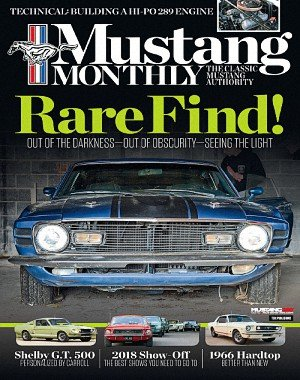 Mustang Monthly - April 2018