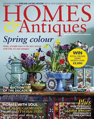 Homes and Antiques - April 2018