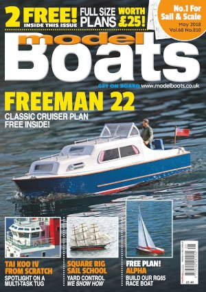 Model Boats - May 2018