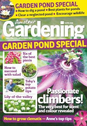 Amateur Gardening - 14 April 2018