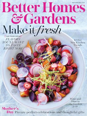 Better Homes & Gardens USA - May 2018