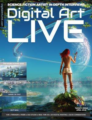 Digital Art Live - Issue 28, April 2018