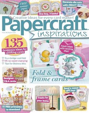 PaperCraft Inspirations - August 2018