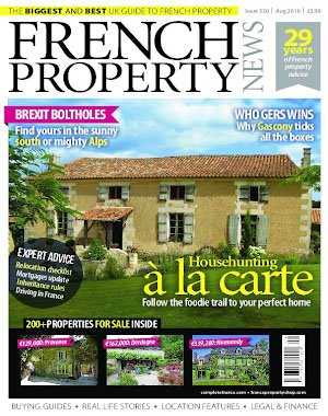 French Property News – August 2018