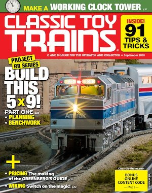 Classic Toy Trains – September 2018
