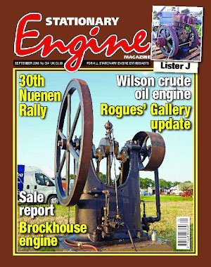 Stationary Engine – September 2018