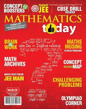 Mathematics Today - August 2018