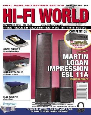 Hi-Fi World - September 2018