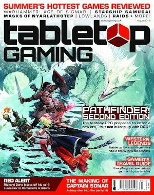 Tabletop Gaming – August 2018