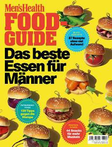 Men's Health Germany - Food-Guide - Nr.2 2018