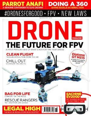 Drone Magazine UK – August 2018