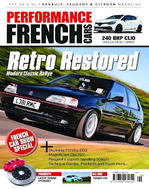 Performance French Cars – October 2018