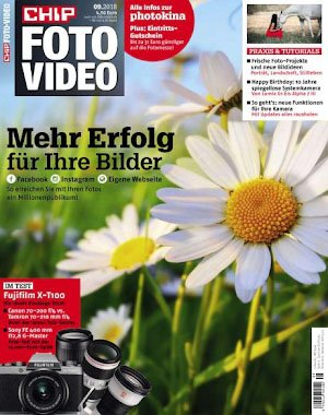Chip Foto Video Germany - September 2018