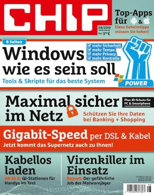 Chip Germany - August 2018