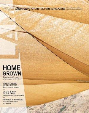 Landscape Architecture Magazine USA - August 2018