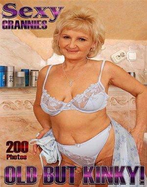 Sexy Grannies Adult Photo Magazine - July 2018